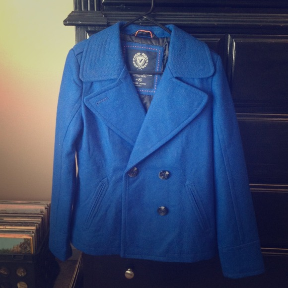 50% off American Eagle Outfitters Outerwear - Royal blue AE ...