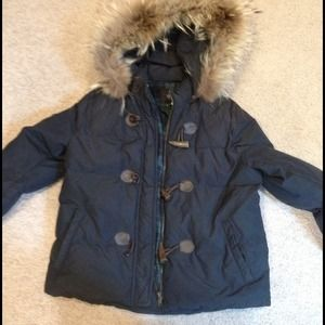 Bcbg gorgeous down quilted winter coat