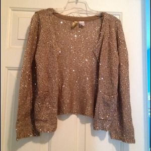H&M Jackets & Blazers - Sequin sweater