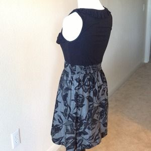 Nordstrom BP Dresses - BUNDLED Black ruffle & floral dress, Jrs. SMALL