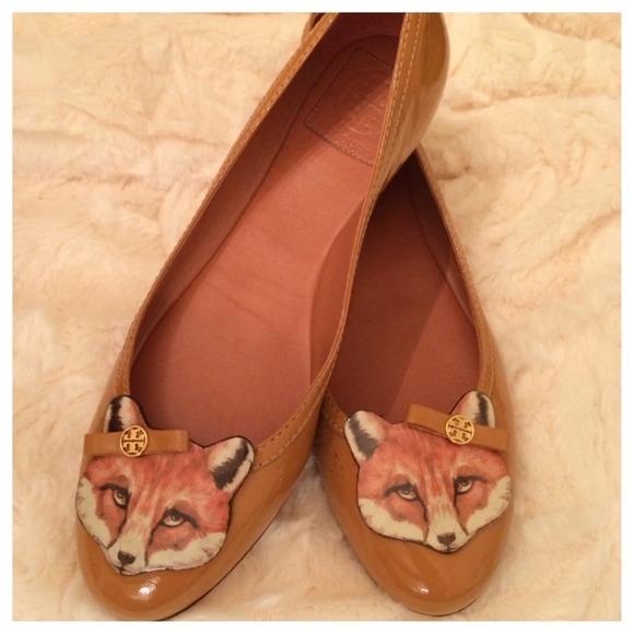 063595ed1b2 🎉HOST PICK🎉 Adorable Tory Burch Fox Ballet Flats