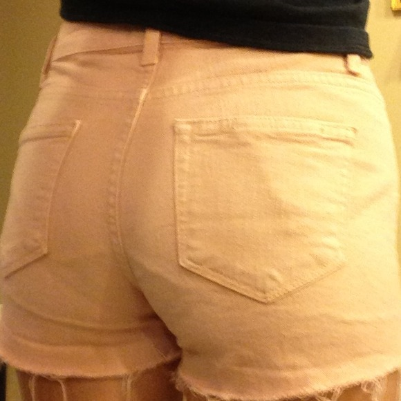 Paige Jeans Denim - Paige High Waisted Peach Shorts! 3