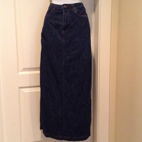 f7d5efee9 Jacob (Canada) Skirts | Long Jean Skirt Bundle Only | Poshmark