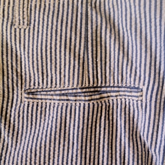 70% off Other - Mens. Navy and white pin striped shorts from ...