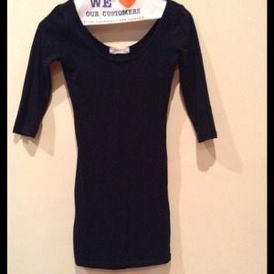 33% off Forever 21 Dresses & Skirts - Short Black Tight Dress from ...