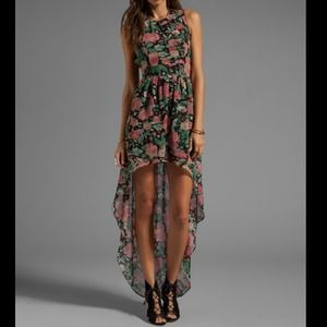 Floral maxi dress - small - brand new- reduced