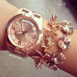Marc by Marc Jacobs Jewelry - Marc by Marc Jacobs Watch in Rose Gold 1