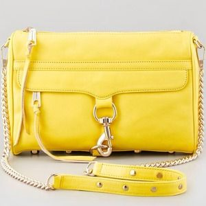 Rebecca Minkoff MAC Clutch in Yellow