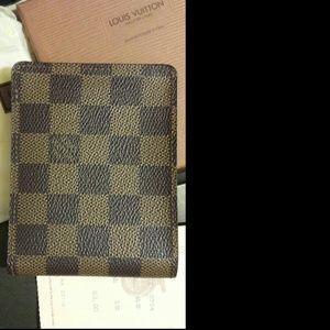 Authentic Damier Louis Vuitton multiple wallet