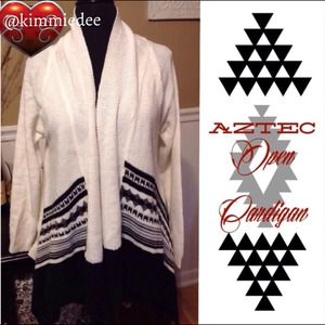 ❤️BUNDLED❤️Aztec tribal open cardigan sweater