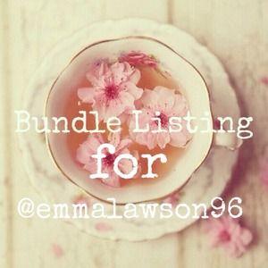 Bundle for @emmalawson96