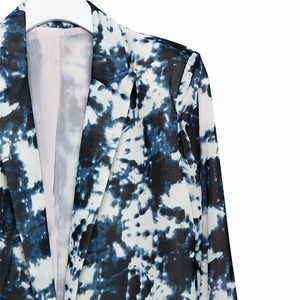 Jackets & Blazers - Tailored blazer with paint splattered design