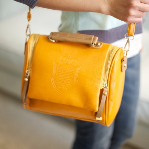 Handbags - 🎉HP 2/6🎉🎀The DARLING handbag - MUSTARD YELLOW🎀 2