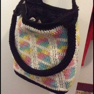 Handbags - Crotchet Tote Bag
