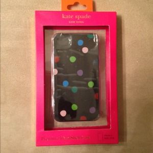 Authentic Kate spade iPhone 4 4/s hardshell case!
