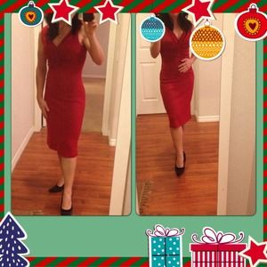 Host pick! Sexy red banana republic dress