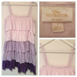 ERIN FETHERSTON ruffle dress 