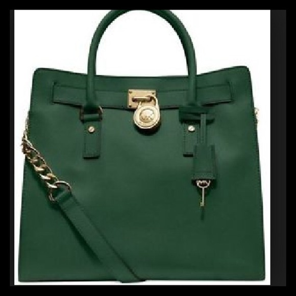 46 off michael kors handbags ���reduced ��� mk malachite