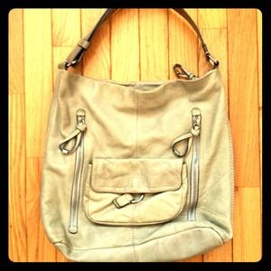 Pretty Leather Hobo Bag