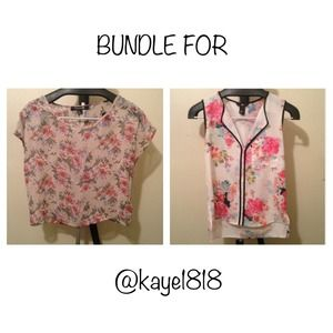 Tops - BUNDLE FOR @kaye1818