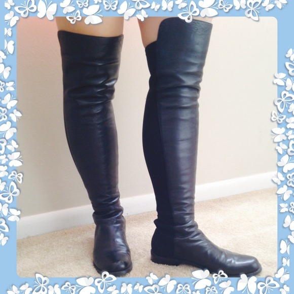 bf180b2b4d7 Accessories - 🔸🔹Stuart Weitzman black 5050 boots!