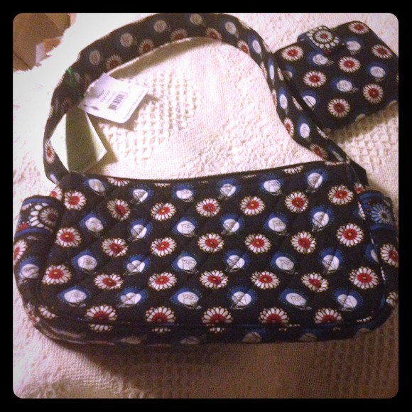3a30dd6e83 Vera Bradley Night Owl Maggie purse n wallet NWT