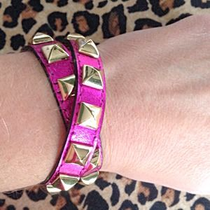HOST PICKRebecca Minkoff Wrap Studded Bracelet