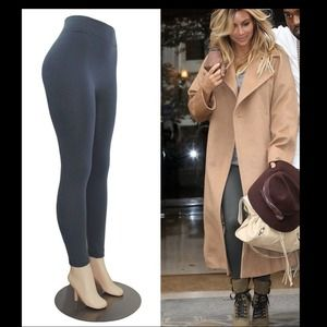 NEW Celeb Style Gray Fleece Lined Leggings💋
