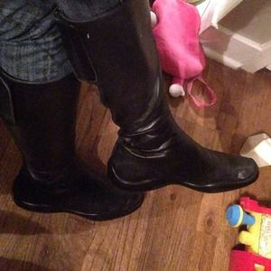 authentic prada boots 38 1/2