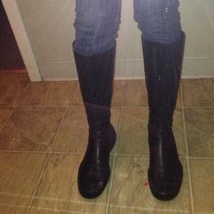 authentic prada boots38 1/2