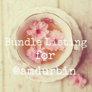 Bundle for @amdurbin