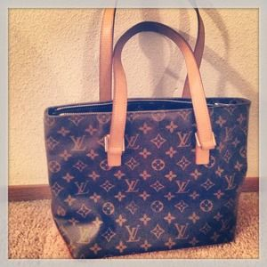 Authentic Louis Vuitton Monogram Tote Bag