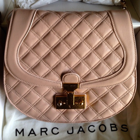 Marc Jacobs Handbags - Marc Jacobs Saffron Blush Leather Bag. NWT and box