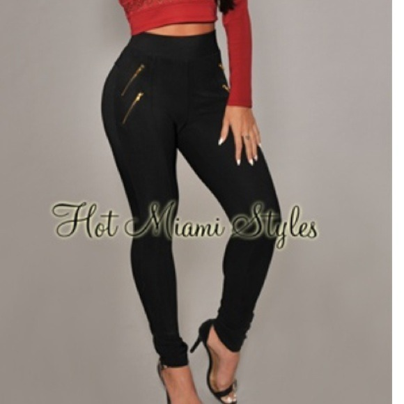 ea0a00798481    sold    High waisted leggings!!! NWT. Hot Miami Styles