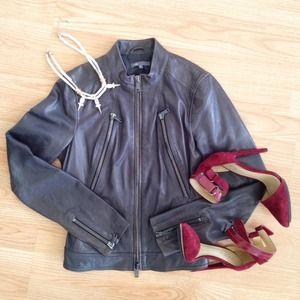 Vince Jackets & Blazers - Vince Moto Jacket