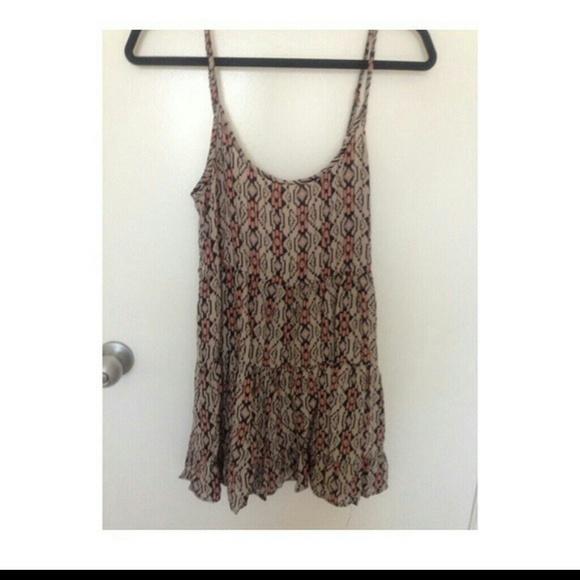 ef7d76450b4 Brandy Melville Aztec Printed Jada Dress