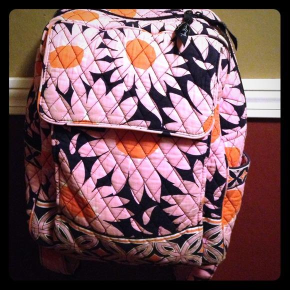 Vera bradley bags flower power backpack poshmark m529c0030fd0bdd05c30070ab mightylinksfo