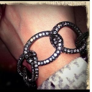 Moving Sale! Pave Link Bracelet