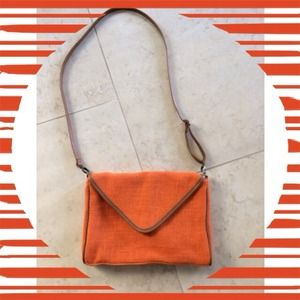 Handbags - Orange Crossbody Bag