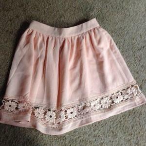 XSOLDX on eBay Tobi pink circle skirt