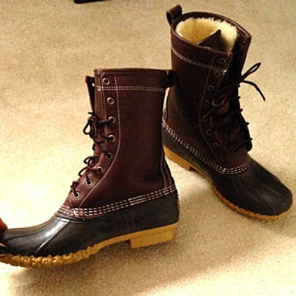 Cool Womens Bean Boots By LLBean Bison 8 Rain Boots
