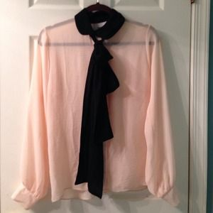 HOST PICK ASOS bow detailing blouse