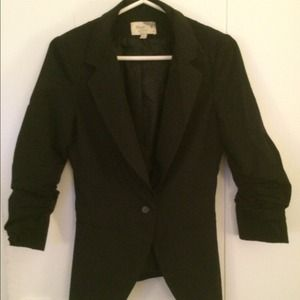Black blazer by Elizabeth and James
