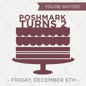 You're Invited: Poshmark's 2nd Birthday Party!