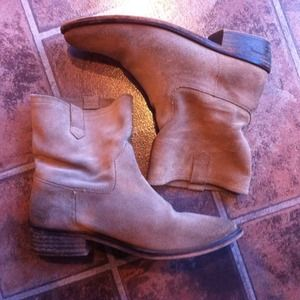 Zara Shoes - Zara Suede Short Boots 3