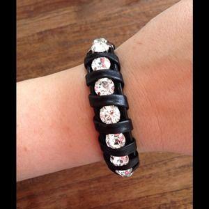 Vista Fashionista  Jewelry - ⚡️SALE⚡️VISTA FASHIONISTA CUSTOM leather bracelet