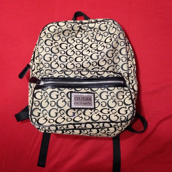 cheap price new style of 2019 Official Website Guess back bag original good condition