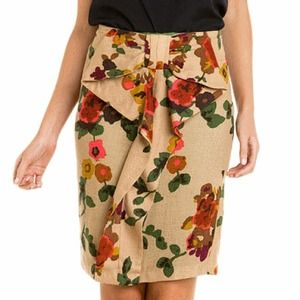 Eva Franco bow skirt