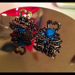 LOFT Other - Jeweler hair clips