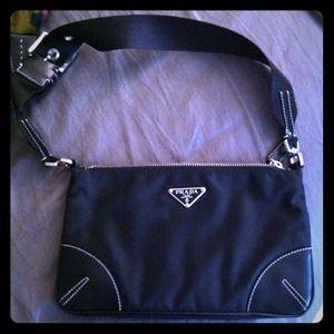 Black Prada handbag